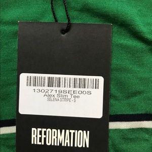 Reformation Tops - Reformation NWT Alex Slim Tee- Small